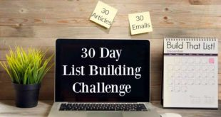 email list buidling course